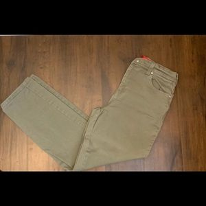 Army Green Petite Jeans Size 8P